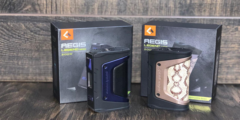 Aegis Legend Mod 200w Review
